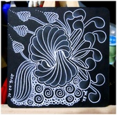 MY Tangle Pattern:每周一主題-051 初心禪繞-黑磚-2.jpg