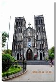 2016 北越 (Northern Vietnam) :河內老城 Church