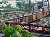 竹屋(竹建築)    竹裝潢:竹欄杆