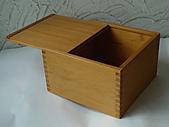 個人作品:檜木茶具盒