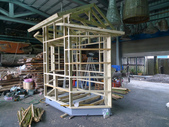 1.5坪的竹木守衛室:守衛室