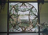 竹屋(竹建築)    竹裝潢:竹窗花