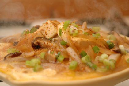 柳川風豆腐燒