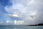 Maldives:雨停了 多麼豪華的禮物啊