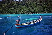 Thailand Surin Similan & HKT:長尾船又帶著一船船的旅客上渡輪了