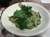 台湾の日々:羅勒青醬野菇義大利麵