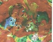 關庄健,我又找了一位畫家的畫作來讓大家欣賞:五福(油畫)關庄健.jpg