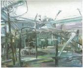 大陸一級美術家朱小芬畫作收藏頁:墟(油畫)朱小芬.jpg