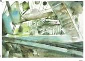 大陸一級美術家朱小芬畫作收藏頁:解構02(水彩畫)朱小芬.jpg