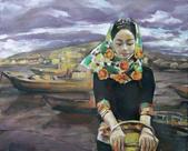 關庄健,我又找了一位畫家的畫作來讓大家欣賞:油画  海风.jpg