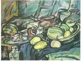 大陸一級美術家朱小芬畫作收藏頁:五月(油畫)朱小芬.jpg