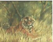 關庄健,我又找了一位畫家的畫作來讓大家欣賞:密林深處(油畫)關庄鍵.jpg