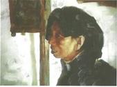 關庄健,我又找了一位畫家的畫作來讓大家欣賞:彝族婦女(丙烯畫)關庄鍵.jpg
