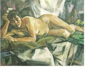 大陸一級美術家朱小芬畫作收藏頁:人體06(油畫)朱小芬.jpg