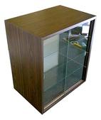 玻璃展示盒:玻璃展示櫃---60*24*60