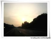工作紀錄:歸途夕陽