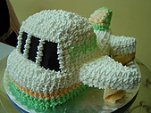 西點烘焙:飛機造型蛋糕2.jpg