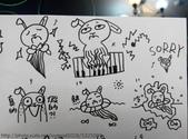 塗鴉:墨魚兔Cuttle Bunny    手稿1050518