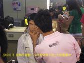 2007/7/18雅靜錄少年特攻隊可比大明星:曹格化粧中!!