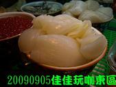 2009/9/5佳佳玩咖東區美食團:很肥的干貝
