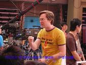 2007/6/26參加華視綜藝大乃霸錄影:還沒開錄夏立克一直講冷笑話逗我們笑