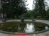 2009/8/11北投圖書館&附近:噴水池