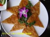 2007/9/30全家去吃活蝦:另外點的月亮蝦餅