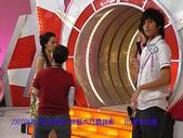 2007/6/26參加華視綜藝大乃霸錄影:蜻蜓