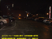 2008/6/18小週末~放羊進香團*西門町:PM8:20頂樓車子都停滿了
