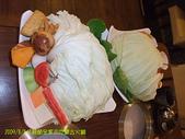 2009/8/8父親節全家去吃蒙古火鍋:青菜