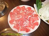 2009/8/8父親節全家去吃蒙古火鍋:我的羊肩肉
