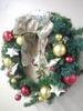 20131209【301小蘿蔔】聖誕氣氛 聖誕花圈有10年囉!