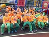 20131108【301小蘿蔔】體表會預演-班服出動.班服首次亮相