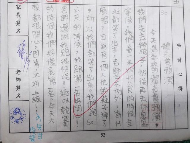 【301小蘿蔔】11月-傳達‧日記‧心情:20131111【301小蘿蔔】體表會預演 每次看到掉鞋子總是特別有趣