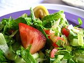 Turkey-食物:每餐都會出現的生菜沙拉