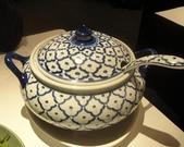 吃吃 喝喝 到處吃:青花瓷裝白飯