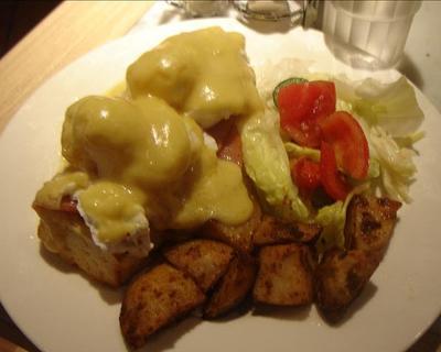 吃吃 喝喝 到處吃:火腿班尼克蛋早餐