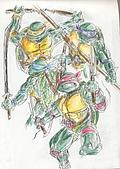 大屍的歡樂塗鴉:忍者龜