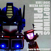 KIDS LOGIC MECHA NATIONS 01 OPTIMUS PRIME: