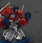 TRANSFORMERS:optimus prime