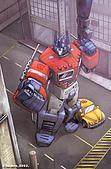 TRANSFORMERS:optimus prime & bumblebee