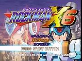 ROCKMAN X:X6-MAINMENU Ver.PS