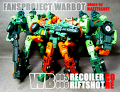 FPJ WB005 RECOILER CORE & WB006 RIFTSHOT CORE :