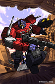 TRANSFORMERS:optimus prime1