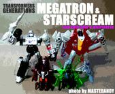 TF GENERATIONS MEGATRON & STARSCREAM: