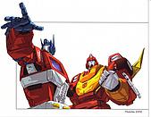 TRANSFORMERS:optimus prime&rodimus