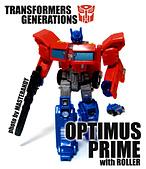 TF GENERATIONS OPTIMUS PRIME & ROLLER: