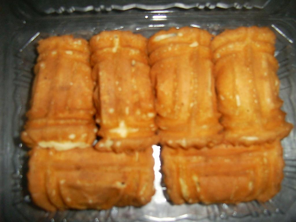 台中城門雞蛋糕:紅豆,奶油