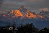 2013年初  尼泊爾-波卡拉:2013年冬 尼泊爾-波卡拉機場-魚尾峰
