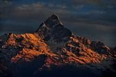 2013年初  尼泊爾-波卡拉:2013年冬 尼泊爾--波卡拉機場-魚尾峰